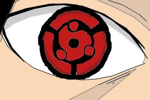 Drawing Mangekyou Sharingan Madara