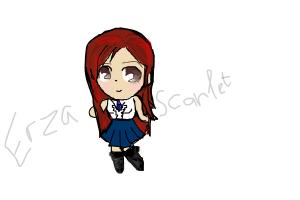 Erza Chibi tutorial