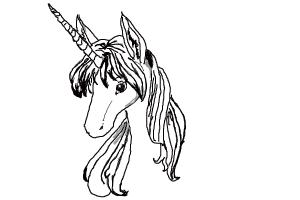 female unicorn