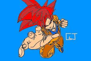 Goku Ssj God