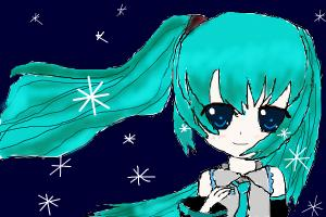 Hastune Miku requested by Midapops