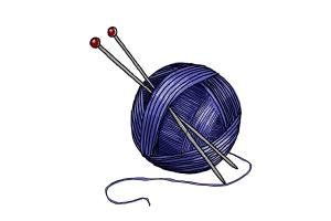 How to Draw a Ball Of Yarn