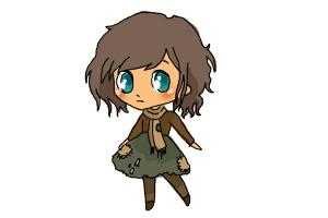 How to Draw a Chibi Orphan Girl