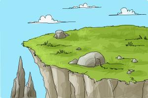 How to Draw a Cliff