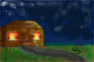 How to Draw a Cottage
