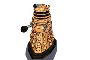 How to draw a Dalek