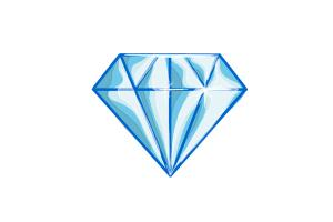 How to draw a diamond shape - staff_illustrator15 | DrawingNow