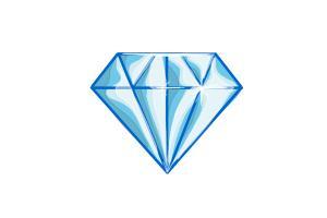How to Draw a Diamond - DrawingNow