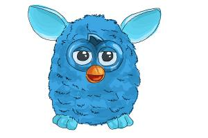 How to Draw a Furby