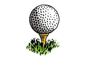 How to Draw a Golf Ball