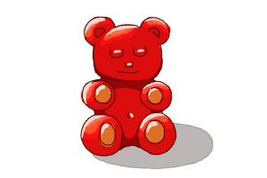 How to Draw a Gummy Bear