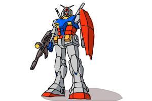 How to Draw a Gundam
