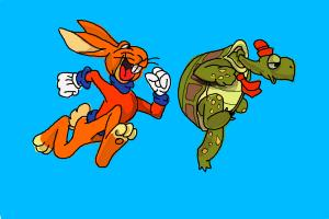 How to Draw a Hare And a Tortoise