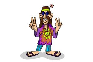 How to Draw a Hippie