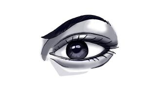 how to draw the human eye video