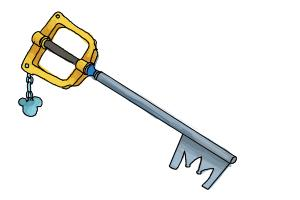 How to Draw a Keyblade