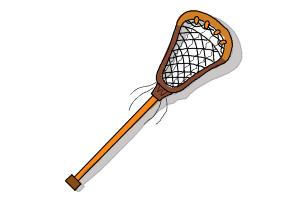 How to Draw a Lacrosse Stick