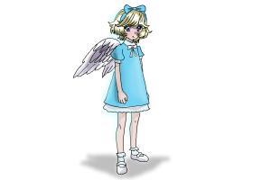 How to Draw a Manga Angel