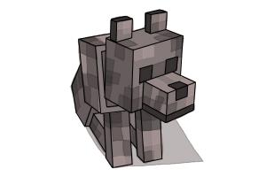 how to draw minecraft step by step easy drawings for kids drawingnow