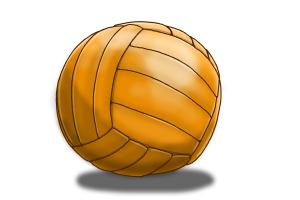 How to Draw a Netball Ball