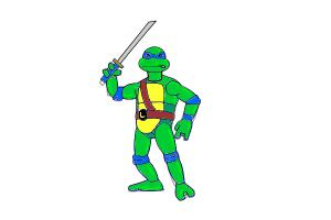 How to Draw a Ninja Turtle