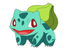 How to Draw a Pokemon (Bulbasaur)