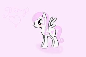 How to Draw a Pony I Made Up 2