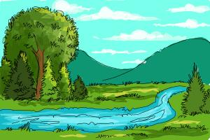 How to Draw a River