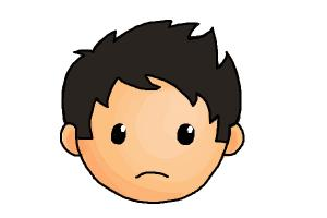 How to Draw a Sad Face