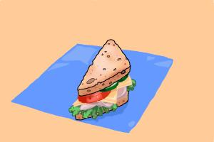 How to Draw a Sandwich