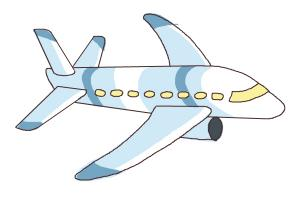 How to Draw a Simple Airplane