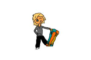 How to draw a Skater dude