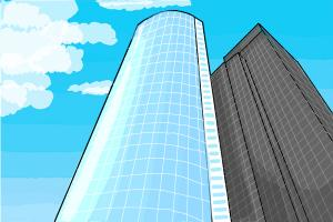 How to draw a Skyscraper