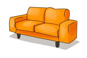 How To Draw Couch Step By Step Drawing Lessons Drawingnow