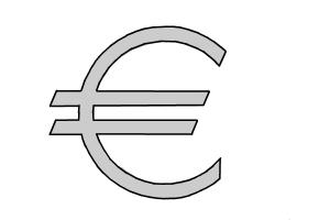 How to Draw a Symbol Of Euro (With Correct Geometry)