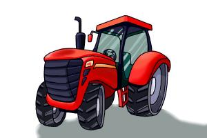 How To Draw A Tractor Drawingnow