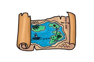 How to Draw a Treasure Map