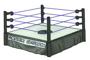 How to Draw a Wrestling Ring