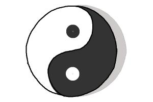 How to Draw a Yin Yang