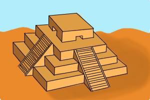 How to draw a Ziggurat