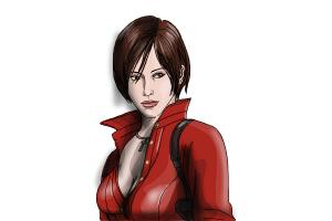 How to Draw Ada Wong from Resident Evil
