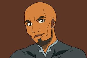 How to draw Agil, Andrew Gilbert Mills from Sword Art Online