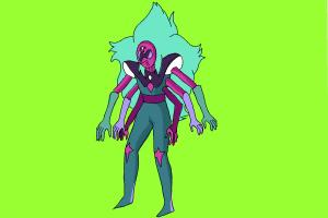 How to draw Alexandrite from Steven Universe