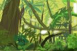 How to draw Amazon Rain Forest