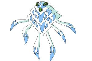 How to Draw Ampfibian from Ben 10 Omniverse
