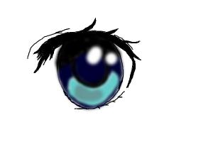 how to draw an anime eye