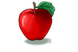 Image result for apple drawing