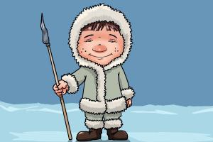 How to draw an Eskimo
