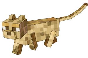 How to Draw an Ocelot from Minecraft