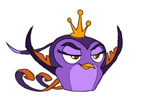 How to Draw Angry Bird Gale from Angry Birds Stella